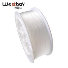 Westbay 1500 м/Roll 1 мм оптическое волокно высокого качества PMMA волоконно-оптический кабель конец свечение кабель для потолка звезда оптического волокна света