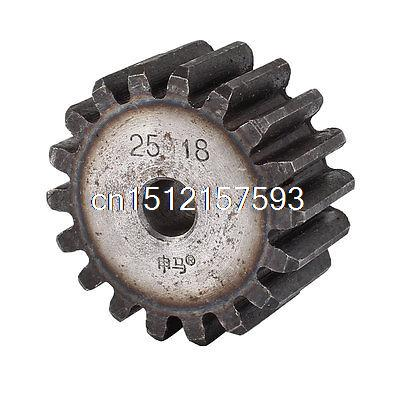 Gray 10mm x 50mm x 25mm Module 2.5 18 Teeth Metal Straight Spur Gear Wheel märklin katalog spur z