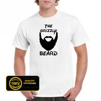 Funny T Shirts Online Novelty Grizzly Beard Fear The Beard With Great Beard O Neck Short