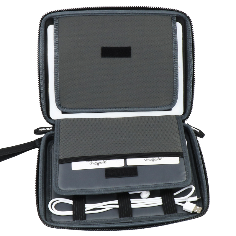 126c2aea585f US $18.99 20% OFF|IKSNAIL Gadget Organizer Case Digital Storage Bag  Electronics Organizer For Charger Cables Hard Drive Power Bank  Protection-in ...