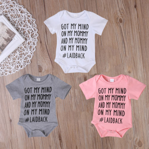 Baby Boys Girls Rompe Jumpsuit Clothes Outfits