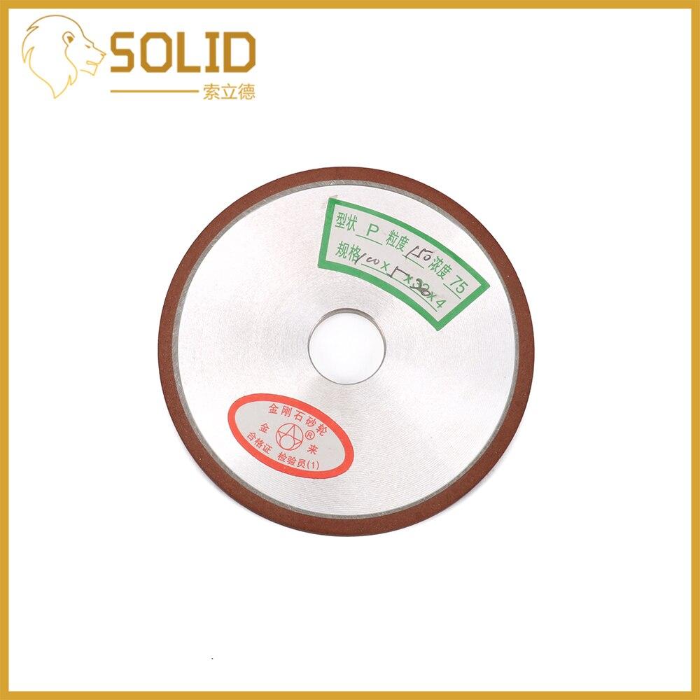 Diamond Grinding Wheel 100mm Cutter Grinder Grinding Wheels For  Steel Milling Cutter Sharpener 1Pc Grit150/240/320/400