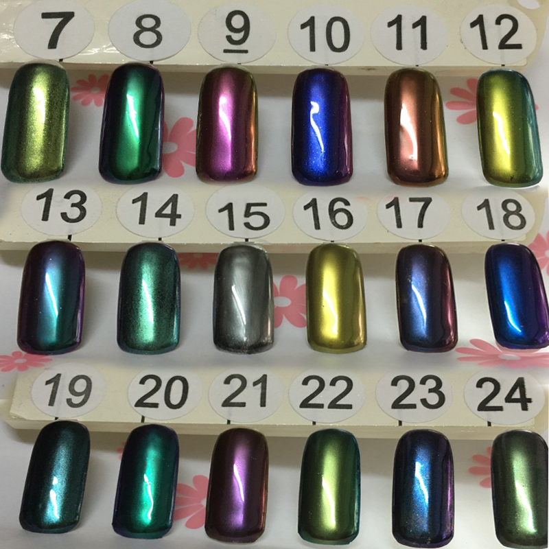 Magnificent Mirror Pigment Powder For Nails Gallery - Nail Art Ideas ...