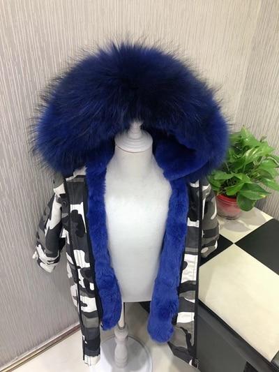 5b1f8832f Children Fur Coat Girls Boys Winter Clothes Baby Real Rabbit Fur J...
