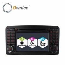 HD 1024  8 Octa Core 2GB RAM Android 6.0 Car DVD Player For Mercedes Benz ML GL Class W164 X164 Radio GPS Navigation 4G SIM LTE