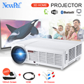 5000 Lumens 3D Home Projector Full HD Support 1920*1080Pixels Video TV WIFI Android Projector With Free 100inches Screen