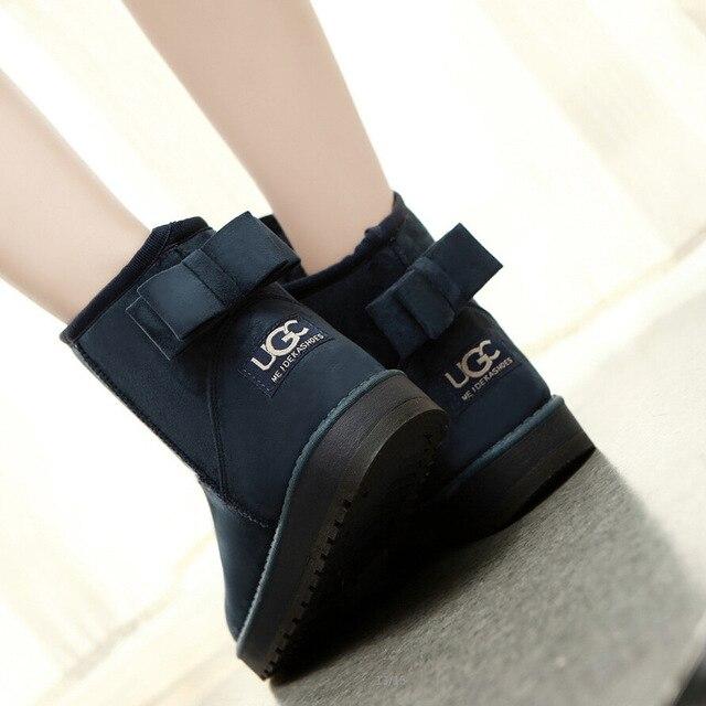 Botas de inverno para as mulheres botas de moda feminina botas femininas botas de neve botas de tornozelo mulheres Quentes Senhoras 2015 de moda de nova 4.5-8.5