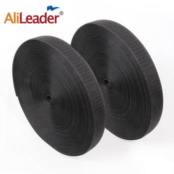 25 Meters/Roll Black White Sew on Adhesive Hook and Loop Tape Fastening Strong Self Velcroing Strap Couture Shoe Accessories