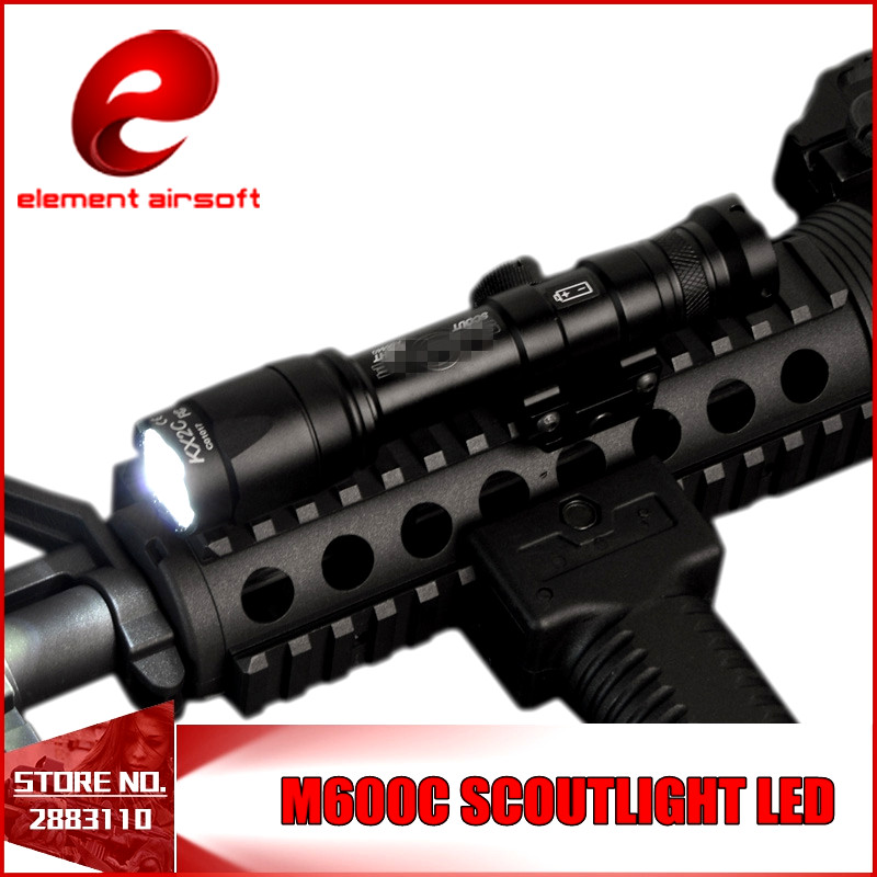 Element Airsoft M600C Tactical SF Weapon Flashlights Full Version LED Tactical Rifle Light Remote Pressure 20mm Rail Mount EX072