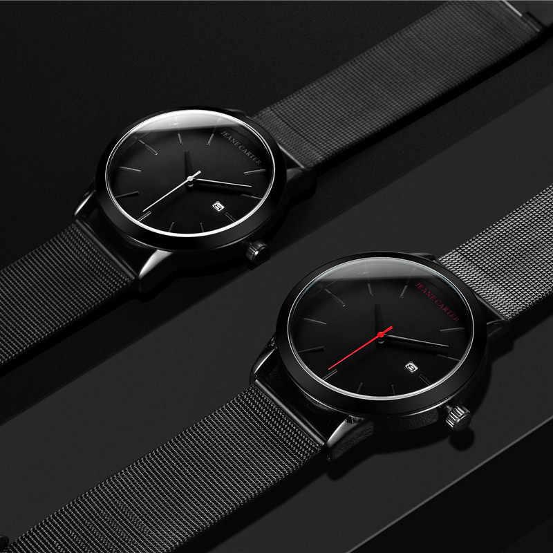 Relogio 2019 Masculino גברים שעונים יוקרה מפורסם למעלה מותג JC-3 גברים של אופנה מזדמן ספורט שעון צבאי קוורץ שעוני יד