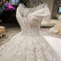 AIJINGYU White Sexy Wedding Dresses Indian Gowns Second Marriage 2019 America Gown Robe Custom Wedding Dress Egypt
