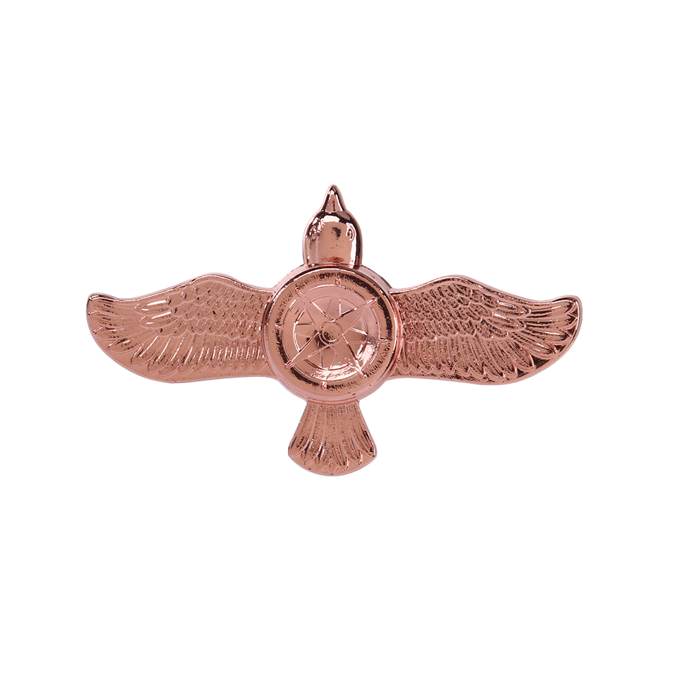 Creative Ceramic Tri-Spinner Fidget Toy EDC Hand Spinner for Autism and ADHD Stress Relieve Toy Eagle Animal creative ceramic tri spinner fidget toy edc hand spinner for autism and adhd stress relieve toy rotation time beyond 6 minutes