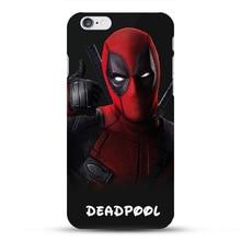 Marvel Avengers Case for coque iphone 7 8 6s Plus 5s SE Deadpool Spiderman Captain America Shield Ironman Superhero Phone Covers