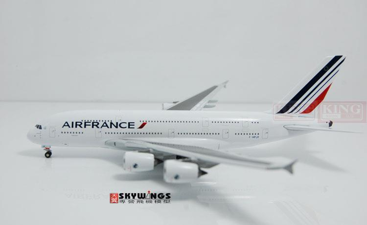A13004 Witty Air France F-HPJF 1:400 A380 commercial jetliners plane model hobby special offer wings xx4232 jc korean air hl7630 1 400 b747 8i commercial jetliners plane model hobby