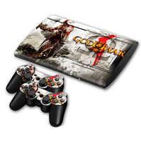 Weihnachtsgeschenk 1 satz Neue haut Aufkleber Für PS3 Super slim 4000 Konsole