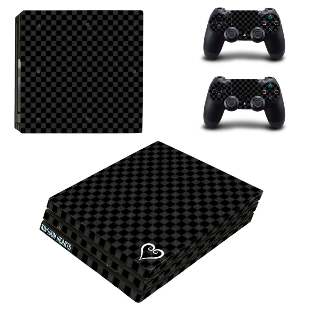 Video Games & Consoles Faceplates, Decals & Stickers Kingdom Hearts Vinyl Skins Decals Stickers Set For Ps4 Pro Consoles Controllers A Great Variety Of Goods