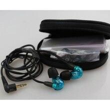 Profesional de auriculares nosotros versión SE215 SE y 215 de alta fidelidad auriculares estéreo de auriculares de ruido aislamiento fone de ouvido en el Monitor de la oreja auriculares