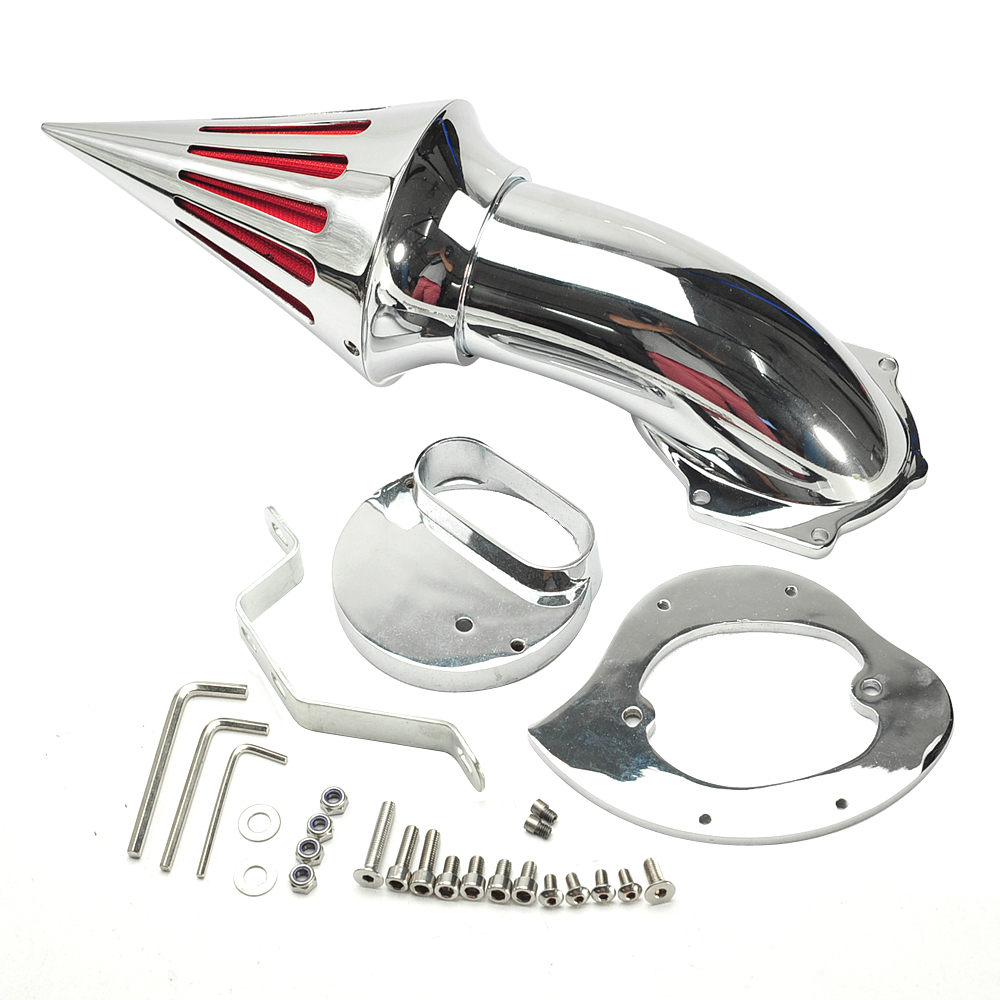 Google chrome themes yamaha - Chrome En Aluminium Moto De Spike Air Intake Cleaner Filtre Pour Yamaha V Star Xvs1100