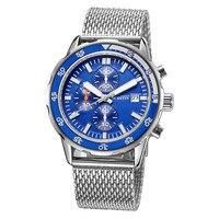 OCHSTIN Top Homens Assistir Homens de Negócios de Moda de Luxo Da Marca Quartz Relógio de Pulso Dive Esporte Relógios de Aço Inoxidável Dos Homens Relógio Relogio Masculino