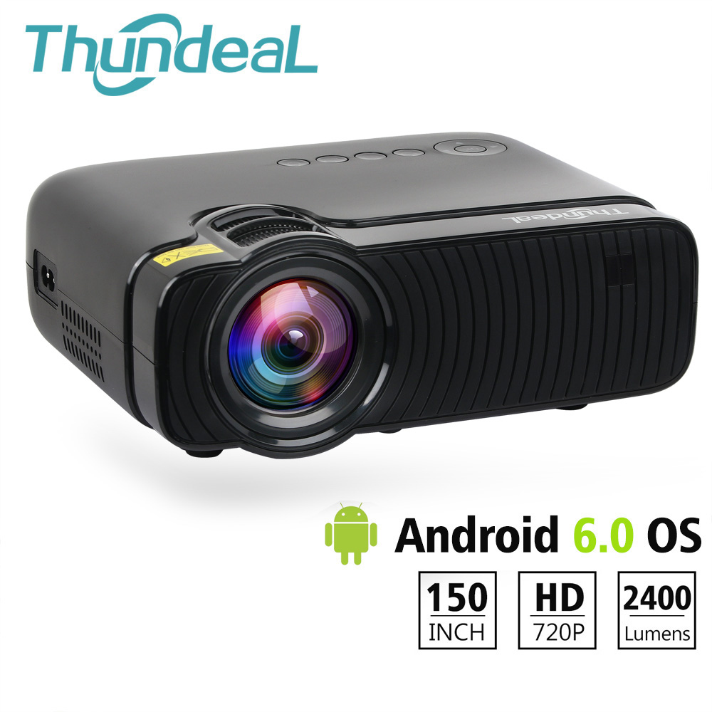 ThundeaL TD30 Max Projector 1280*720 Optional Android 6.0 WiFi Bluetooth 4K Mini LED Projector 2400Lumens Video 3D HD ProyectorThundeaL TD30 Max Projector 1280*720 Optional Android 6.0 WiFi Bluetooth 4K Mini LED Projector 2400Lumens Video 3D HD Proyector