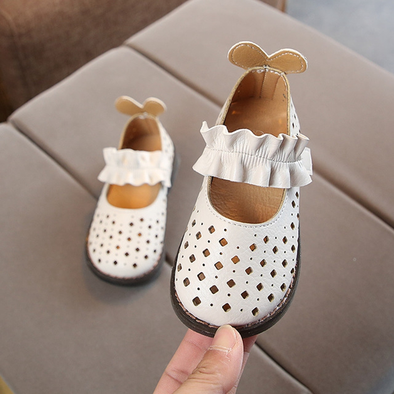 Girls Mother & Kids 2019 Summer Children Shoes Fashion Kids Sandals For Girls Leather Shoes Cut Out Girls Beach Sandals Princess Shoes Ks251