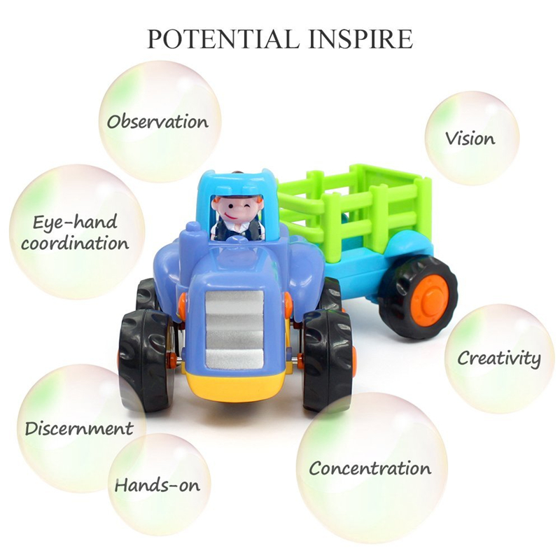 Toy Trucks for Toddlers Potential Inspire