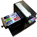 Низкая стоимость A4 мини размер планшетный принтер с белым номера для покрытия чернила печати новые технологии
