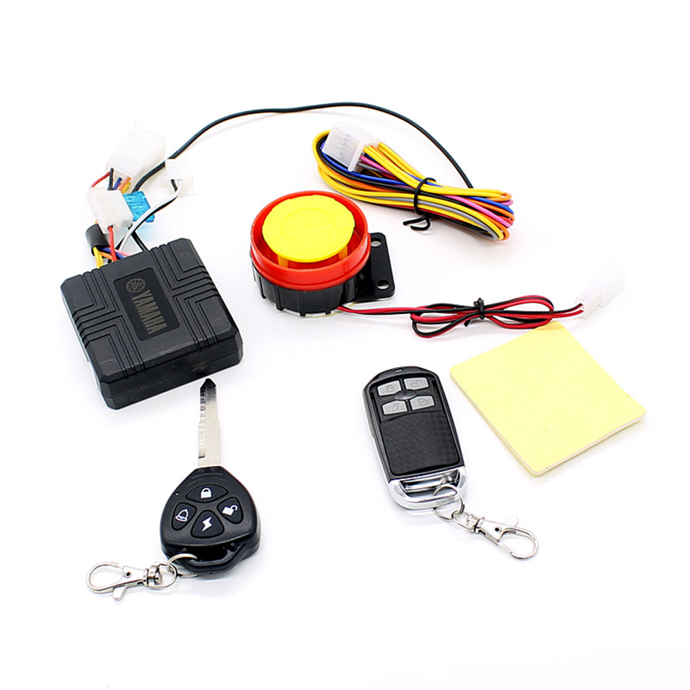 12v universal motorcycle motorbike scooter compact security alarm system remote control engine start for suzuki yamaha