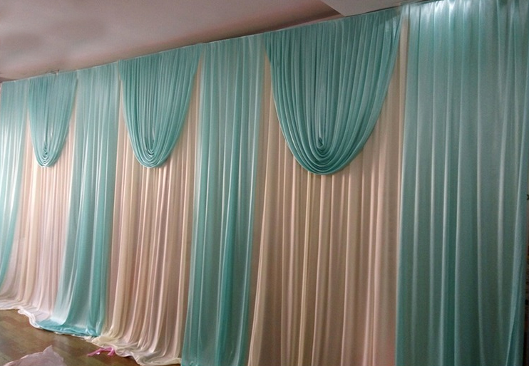 Luxury-wedding-backdrop-curtain-with-swag-wedding-drapes-elegant-pink-green-wedding-stage-backdrop-party-decor (2)