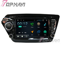 TOPNAVI 8 1024*600 Quad Core 16G Android 6.0 Car DVD Multimedia Player for KIA K2 Autoradio GPS Navigation Audio Stereo 3G WIFI