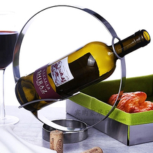 Fashion wine rack stainless steel fashion red wine bottle rack wine rack home decoration