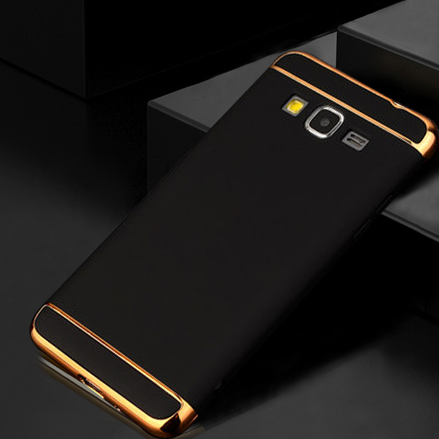 KaiNuEn Luxury Hard Plastic Original Mobile Phone Back Coquecovercase For Samsung Galaxy J2 Prime G530 3 In 1 Shockproof Half Wrapped Case From