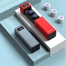 Nuovo TWS senza fili Bluetooth auricolari IPX7 impermeabile auricolari intelligente di impronte digitali touch hifi lossless sport auricolari bluetooth 5.0