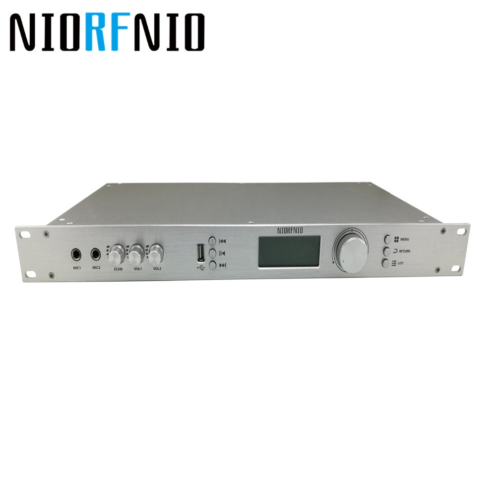 Fabricant Livraison Gratuite RDS Numérique Partition NIO-T50R FM PLL Émetteur de Radiodiffusion