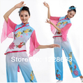 Elegant Ancient Traditional Plus Size Dress Chinese Yangko Dance Costume / Folk Dance Costume / Fan Dance costumes