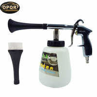High pressure car washer foam gun,car tornado tool Foam Lance Tornador Interior Deep Cleaning Gun Car Wash With Brush