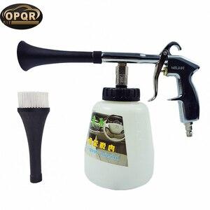 Image 1 - High pressure car washer foam gun,car tornado tool Foam Lance Tornador Interior Deep Cleaning Gun Car Wash With Brush