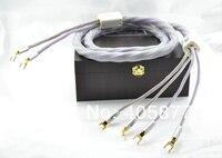 3 м Подпись 3 biwire (от 2 до 4) Акустический кабель с spade plug напольные Акустический кабель