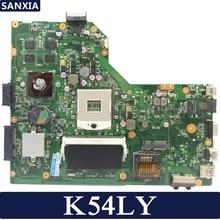 KEFU K54LY carte mère d'ordinateur portable pour ASUS K54L K54LY X54H X54H K54HR X84H Test original mai'nboard REV2.1/2.0 PM