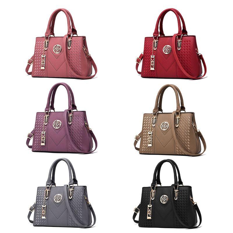 Shoulder Bag Women Leather Handbag Shoulder Bag Ladies Purse Tote Messenger Satchel Crossbody Bags