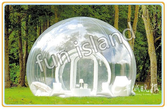 Customized clear inflatable tent/camping inflatable clear tent/inflatable bubble camping tent customized hot sale new wholesale factory price inflatable bubble tent for party camping