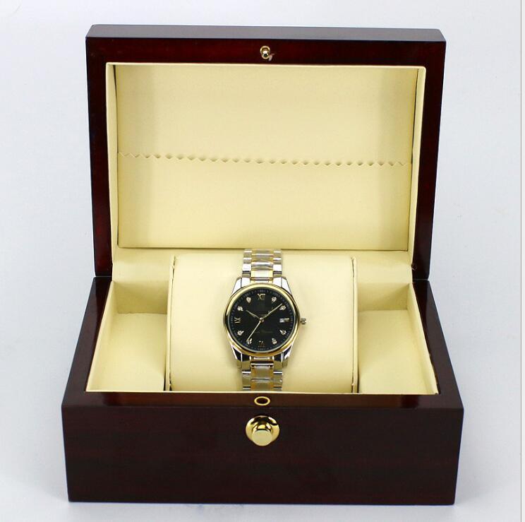 Premium Gift Jewelry Jewelry Box Bracelet Jewelry Box Watch Wooden Box Display Box Wristwatch Storage Holder Organizer Case dragon mahogany jewelry box jewelry boxes embossed ebony round mahogany jewelry box wooden jewelry box large