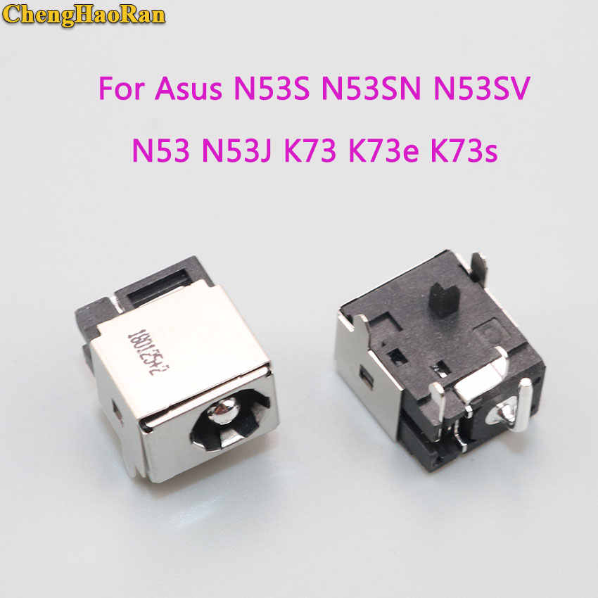Chenghaئران ل Asus N53JF N53JQ N53S N53SN N53SV N53 N53J K73 K73e K73s K73SD K73sv X73s تيار مستمر مقبس متفرع الطاقة شحن