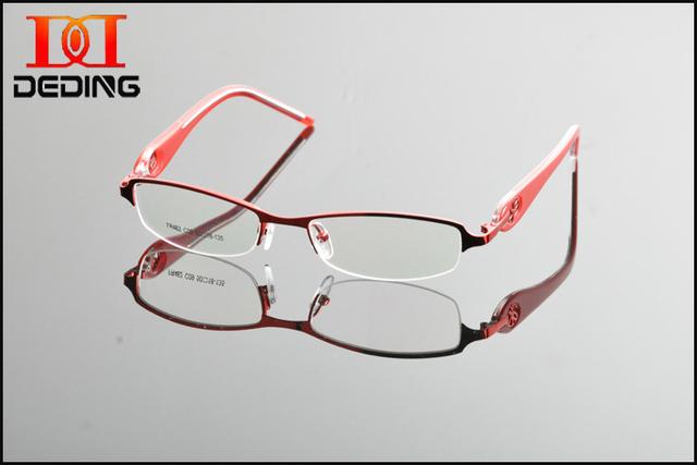 2015 New Design Women Fashion Frame Myopia Commercial Eyeglasses Frame  Female Bussiness Optical Frame For Myopa lens DD0862