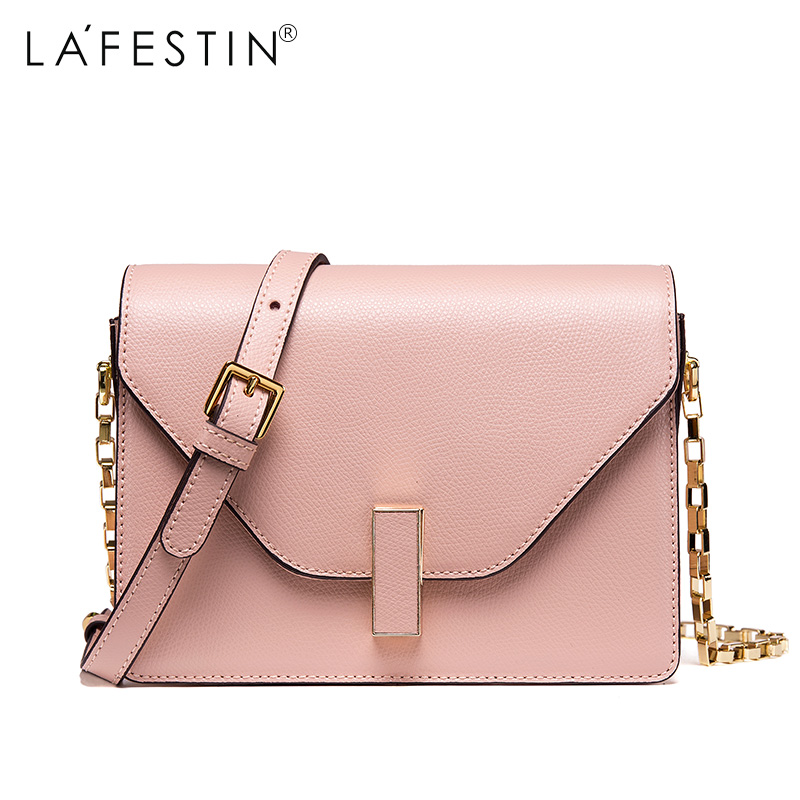 LAFESTIN Women Shoulder Flap Genuine Leather Bag Versatile Luxury Multifunction brands Crossbody Bag bolsa lafestin luxury shoulder women handbag genuine leather bag 2017 fashion designer totes bags brands women bag bolsa female