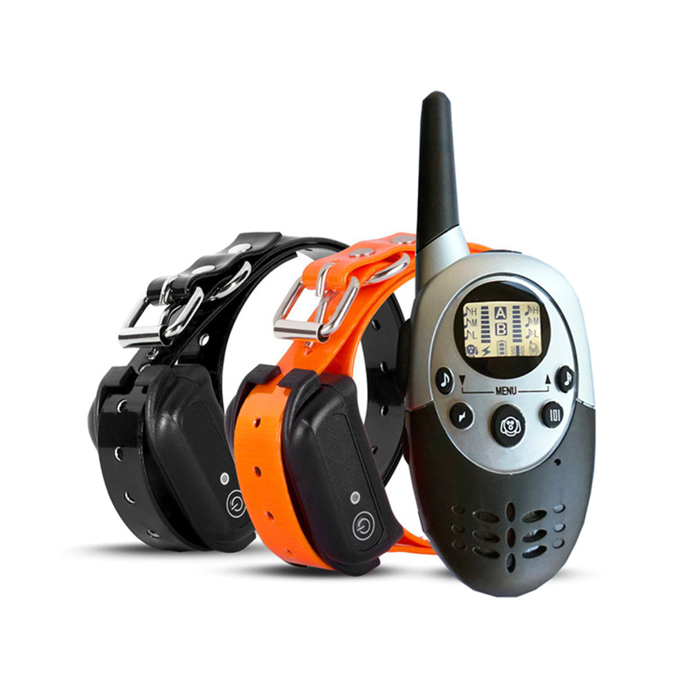 DEIRYLE-New-Rechargeable-1000m-Remote-Control-Dog-Training-Collar-Shock-Collar-Dog-Electric-Collars