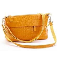 Luxus frauen 100% Echtem Leder mit Krokoprägung Handtaschen Leder Große kapazität Clutch abendtasche mit 2 Riemen, 3018