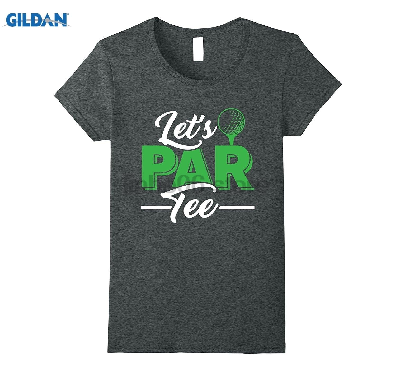 GILDAN Golfing Humor Lets Par Tee Novelty TShirt Mens Brand Gildan 2018 Summer Cool Mens T-Shirt Mothers Day Ms. T-shirt