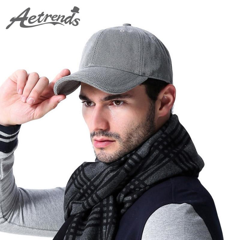 Aetrends 2016 brand 100 cotton men baseball cap sport for Polo fishing hat