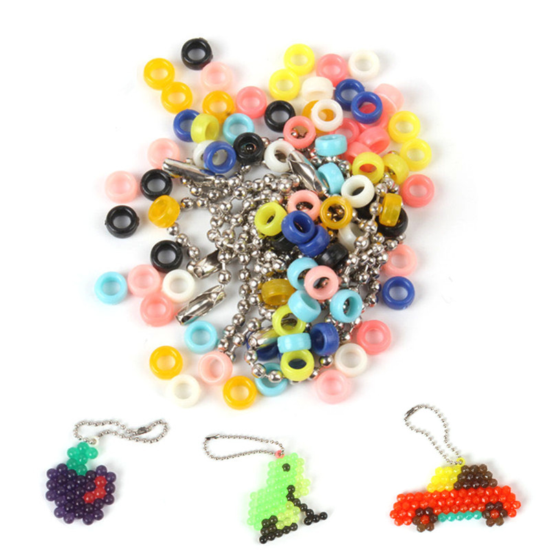 Water Sticky Beads 3D Puzzle Toys Accessories Ring Wave Bead Chain Brinquedos Hama Beads Jigsaw Puzzle Kids Educational Toys